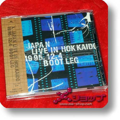 X JAPAN - LIVE IN HOKKAIDO 1995.12.4 BOOTLEG (Re!cycle)-0
