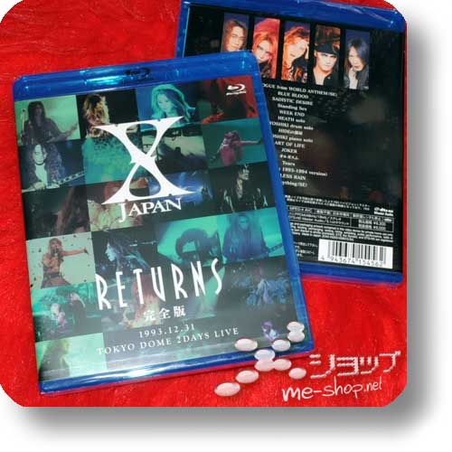 X JAPAN - Returns 1993.12.31 Tokyo Dome 2 days live (BLU-RAY)-0