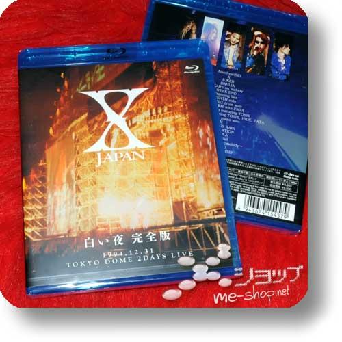 X JAPAN - Shiroi yoru 1994.12.31 Tokyo Dome 2 Days Live (BLU-RAY)-0