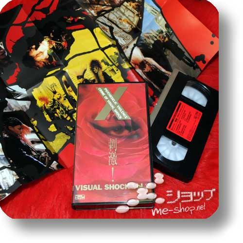 X JAPAN - Shigeki! VISUAL SHOCK Vol.2 (PV-VHS / Orig.1989!) (Re!cycle)-0