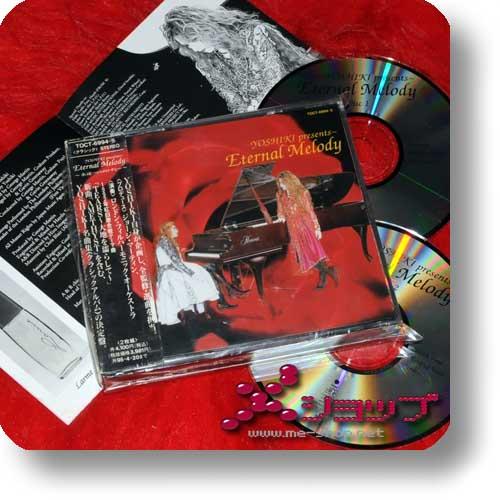 YOSHIKI - Eternal Melody (lim.2CD / orig.1995! / X Japan) (Re!cycle)-0