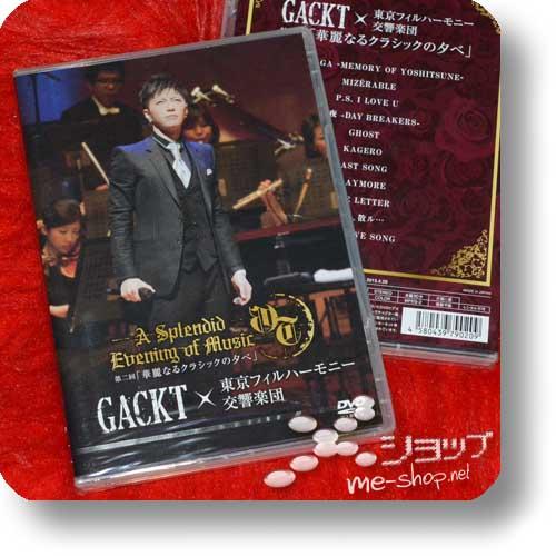 GACKT x TOKYO PHILHARMONIC ORCHESTRA - Dai 2 Kai [Karei naru classic no yuube] (DVD)-0
