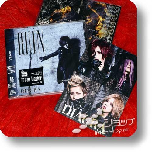 DIAURA - RUIN lim.CD+DVD B-Type +Bonus-Fotokarte-0