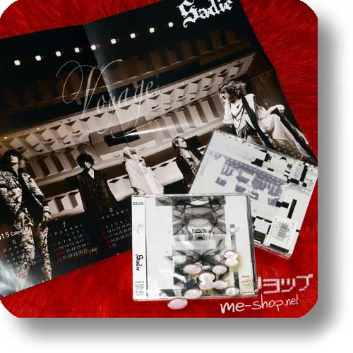 SADIE - Voyage (LIM.CD+DVD A-Type) +Bonus-Poster!-0