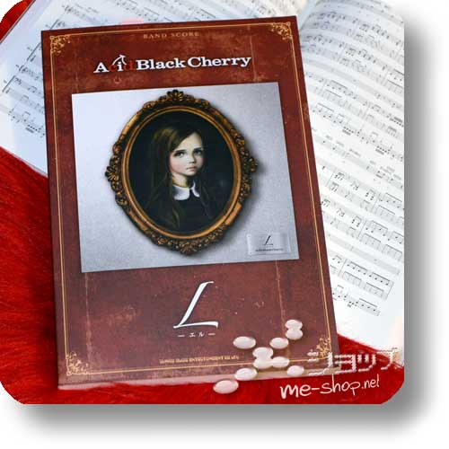 ACID BLACK CHERRY - L OFFICIAL BAND SCORE (Notenbuch)-0