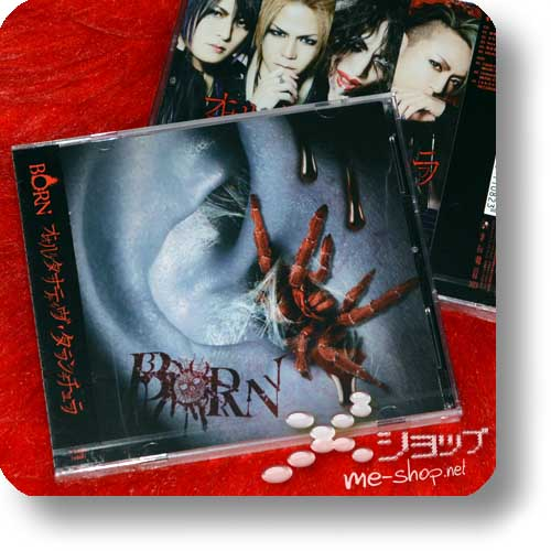 BORN - Alternative Tarantula lim.CD+DVD B-Type +Bonus-Fotopostkarte!-11752