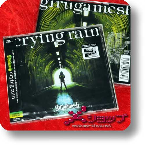 GIRUGAMESH (girugämesh) - crying rain LIM.CD+DVD (Re!cycle)-0