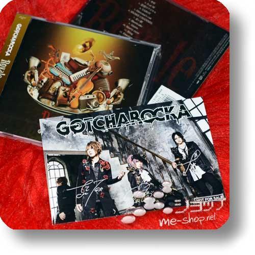 GOTCHAROCKA - Royale (inkl. Bonustrack!) +Bonus-Fotopostkarte-0