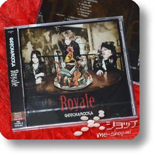 GOTCHAROCKA - Royale (lim.CD+DVD)-0