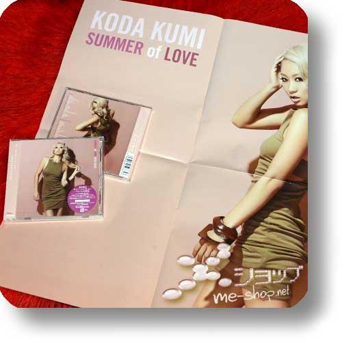 KUMI KODA - SUMMER of LOVE (CD+Blu-ray) +BONUS-PROMOPOSTER!-0