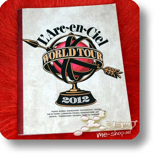 L'ARC~EN~CIEL - WORLD TOUR 2012 Original Tour Pamphlet (Re!cycle)-0