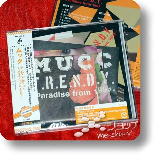 MUCC - T.R.E.N.D.Y. -Paradise from 1997- (lim.CD+DVD) +Bonus-Sticker!-11618