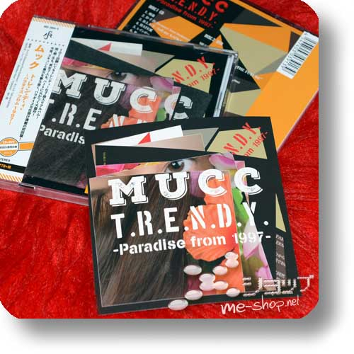 MUCC - T.R.E.N.D.Y. -Paradise from 1997- (lim.CD+DVD) +Bonus-Sticker!-0