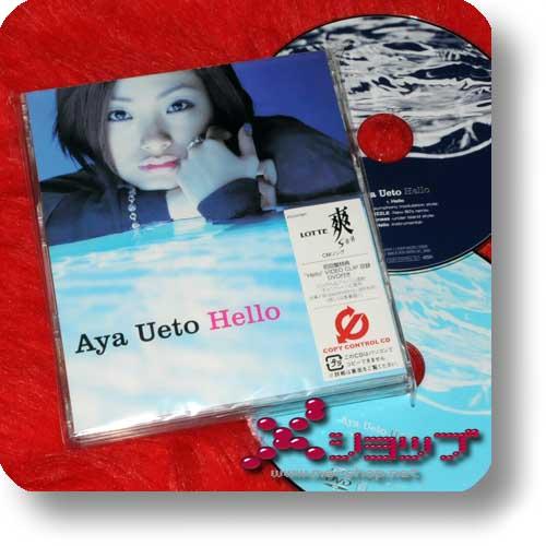 AYA UETO - Hello (lim.CD+DVD) (Re!cycle)-0