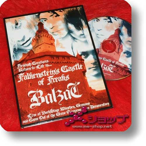 BALZAC - Falkenstein's Castle of Freaks / Live at BackStage München (DVD) (Re!cycle)-0