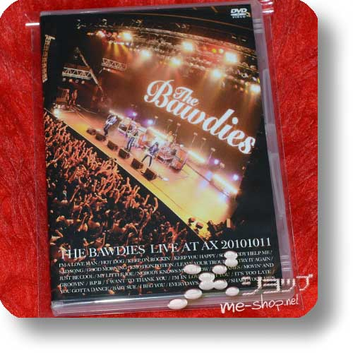 THE BAWDIES - LIVE AT AX 20101011 (Live-DVD) (Re!cycle)-0