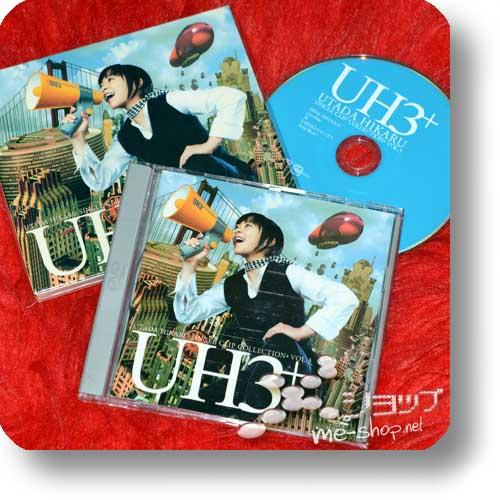 HIKARU UTADA - UH3+ Single Clip Collection (PV-DVD / lim.+Bonus!) (Re!cycle)-12443