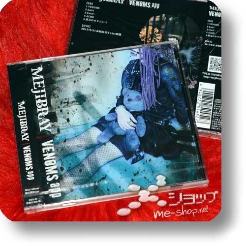 MEJIBRAY - VENOMS.app LIM.CD+DVD B-Type +Bonus-Fotokarte!-12196