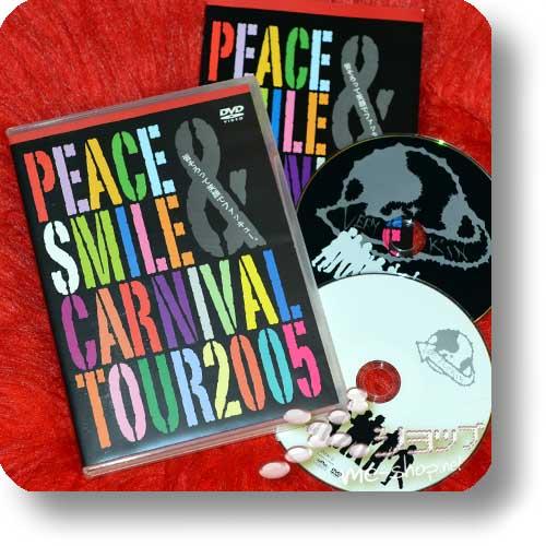 PEACE & SMILE CARNIVAL TOUR 2005 (lim.DVD+Bonus-DVD / Orig.PSC 2006! / Miyavi, Kagrra, Kra, GazettE, alice nine.) (Re!cycle)-0