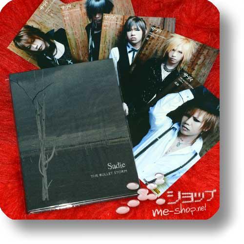 SADIE - The Bullet Storm LIM.CD+Photobook +Promo-Fotokartenset! (Re!cycle)-0