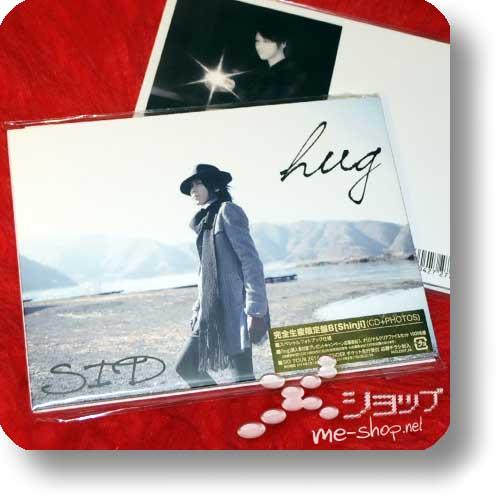 SID - hug LIM.CD+Photobook B-Type (Shinji Ver.) (Re!cycle)-0