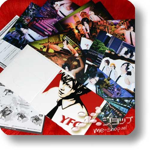 YELLOW FRIED CHICKENz - YFC BOX@JAPAN (20-tlg.Fotokartenset+Fastfood-Box) Original Merchandise! (Re!cycle)-0