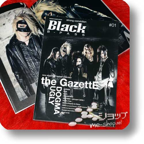 BLACK B-PASS #01 (Oktober 2015) - the GazettE, lynch., MUCC, Crossfaith, Plastic Tree...-0
