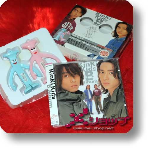 """KINKI KIDS - B album (LIM.BOX inkl. SPECIAL """"KinKi"""" DOLLS!) (Re!cycle)-0"""