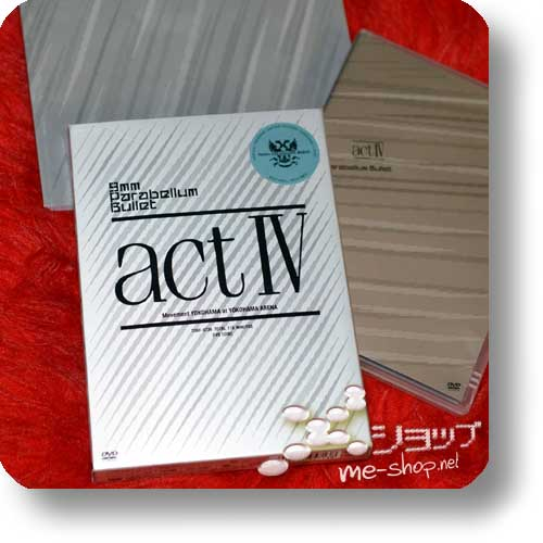 9mm Parabellum Bullet - act IV (Live-DVD / lim.Box inkl.Phtobook!) (Re!cycle)-13563