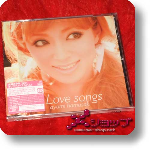 AYUMI HAMASAKI - Love Songs LIM.1.PRESS (Re!cycle)-0