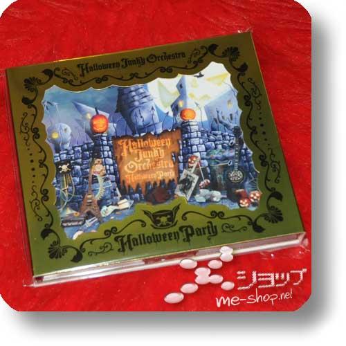 HALLOWEEN JUNKY ORCHESTRA - Halloween Party LIM.Digipak CD+DVD+Bonus-Fotobooklet! (Re!cycle)-0