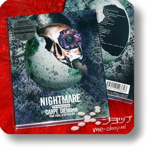 NIGHTMARE - 15th Anniversary Tour CARPE DIEMeme TOUR FINAL @ TOYOSU PIT (lim.Blu-ray+Photobook)-0