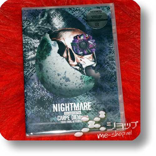 NIGHTMARE - 15th Anniversary Tour CARPE DIEMeme TOUR FINAL @ TOYOSU PIT (DVD)-0