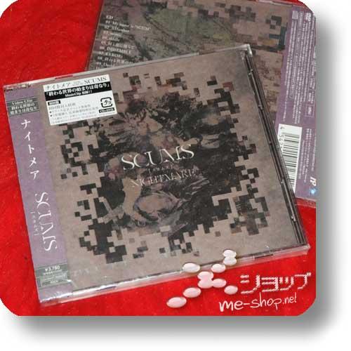 NIGHTMARE - SCUMS lim.1.Press inkl.2 Bonustracks+Fotosticker! (Re!cycle) -13233