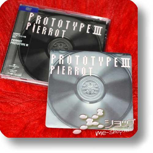 PIERROT - Prototype III (Videoclip-DVD)+Bonus-Sticker! (Re!cycle)-0