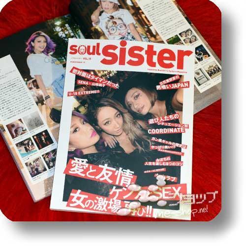 SOUL SISTER Vol.15 (November 2015) Fashion & Lifestyle-Magazin-0