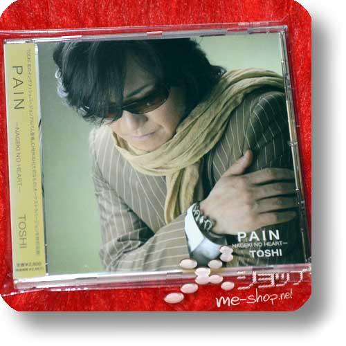TOSHI - PAIN -NAGEKI NO HEART- (Toshl / X Japan) (Re!cycle)-0