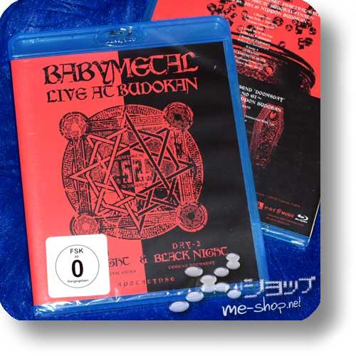 BABYMETAL - LIVE AT BUDOKAN (Blu-ray / DEUTSCHE PRESSUNG)-0