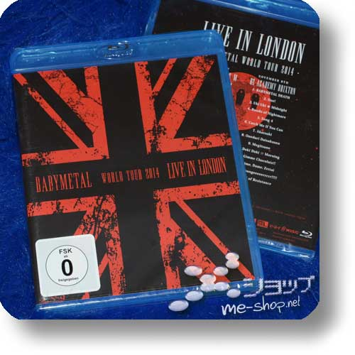 BABYMETAL - LIVE IN LONDON (Blu-ray / DEUTSCHE PRESSUNG)-0