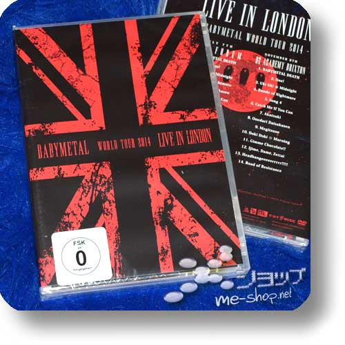 BABYMETAL - LIVE IN LONDON (2DVD / DEUTSCHE PRESSUNG)-0