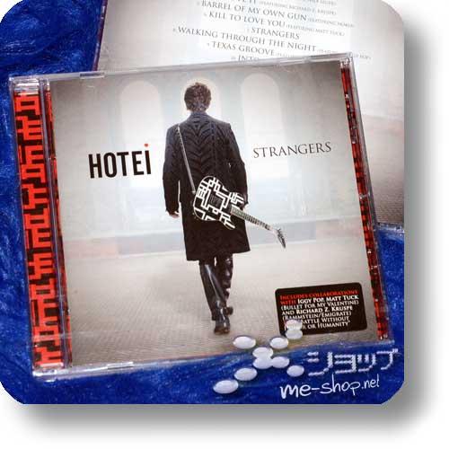HOTEI - STRANGERS (EU-Pressung) feat. Iggy Pop, Richard Z. Kruspe (Rammstein/Emigrate)...-0