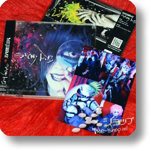 MEJIBRAY - Secret no. 03 LIM.CD+DVD A-Type +Bonus-Fotokarte!-0