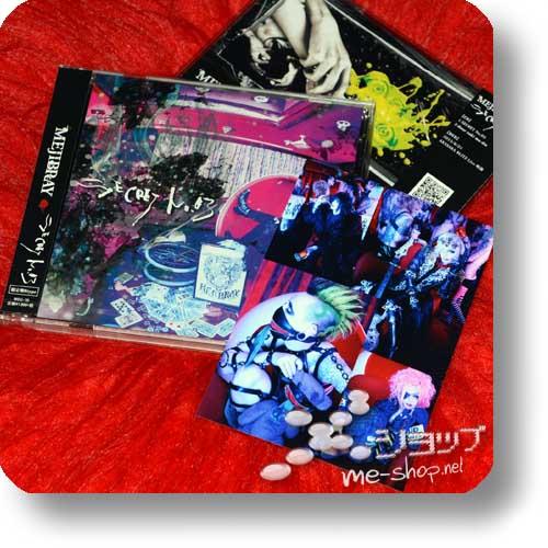 MEJIBRAY - Secret no. 03 LIM.CD+DVD B-Type +Bonus-Fotokarte!-0