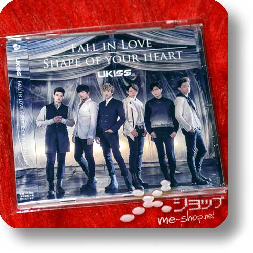 U-KISS (UKISS) - Fall In Love / Shape Your Heart (lim. mu-mo-Edition) (Re!cycle)-0
