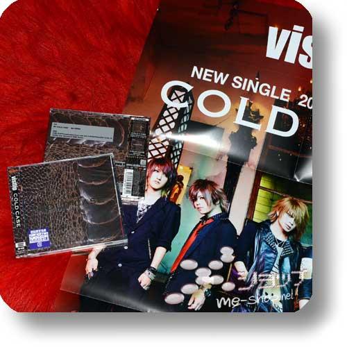 "vistlip - COLD CASE CD+DVD ""limited edition"" +Bonus-Promoposter!-0"