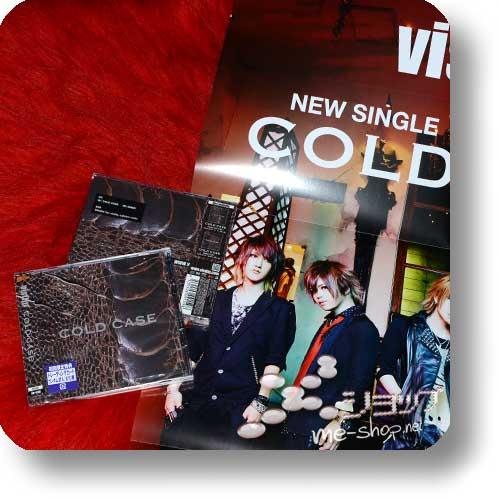 "vistlip - COLD CASE CD+DVD ""vister"" +Bonus-Promoposter!-0"