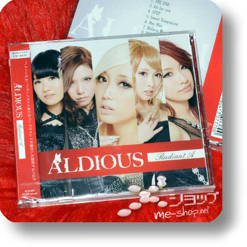 ALDIOUS - Radiant A (lim.CD+DVD)-0