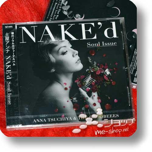 ANNA TSUCHIYA - NAKE'd Soul Issue +Bonus-Promoposter!-0