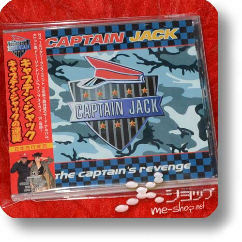 CAPTAIN JACK - The Captain's Revenge (Japan-Pressung inkl. Bonustracks) (Re!cycle)-0