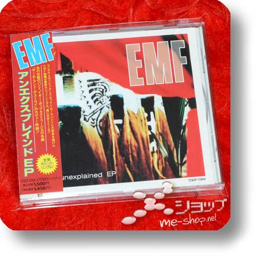 EMF - unexplained EP (Japan-Pressung) (Re!cycle)-0